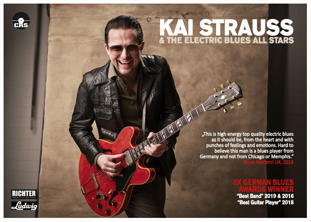 Kai Strauss & The Electric Blues All Stars