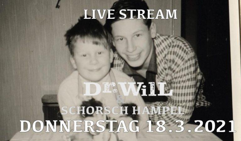 Blues-Brüder – Dr. Will und Schorsch Hampel live
