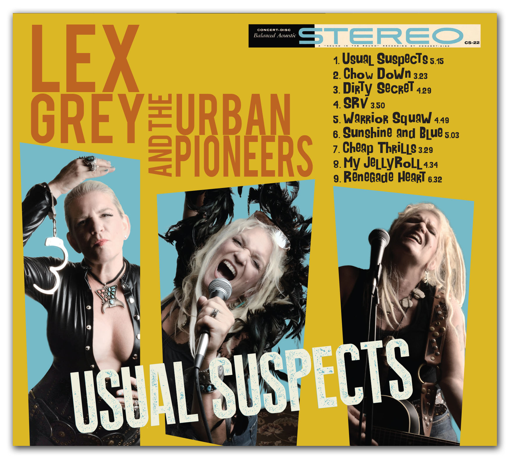 Lex Grey and the Urban Pioneers – Usual Suspects – MunichTalk